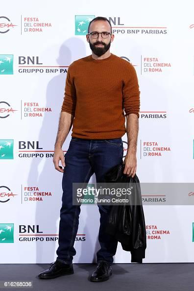 Mattia Colombo attends a photocall for 'Ritmo Sbilenco Un Filmino Su Elio E Le Storie Tese' during the 11th Rome Film Festival at Auditorium Parco...