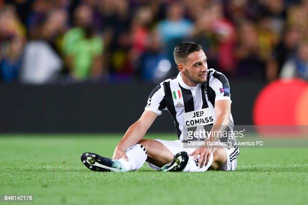Mattia De Sciglio during the UEFA Champions League group D match between FC Barcelona and Juventus at Camp Nou on September 12 2017 in Barcelona Spain