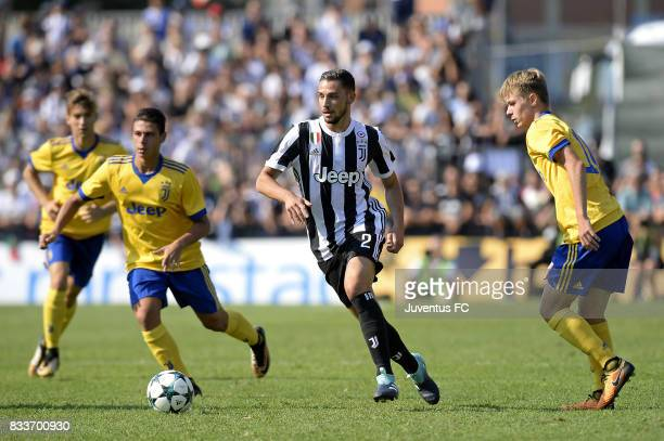 Mattia De Sciglio of Juventus during the preseason friendly match between Juventus A and Juventus B on August 17 2017 in Villar Perosa Italy