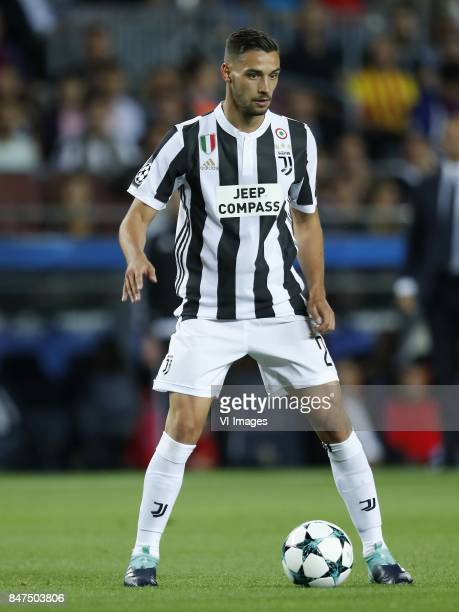 Mattia De Sciglio of Juventus FC during the UEFA Champions League group D match between FC Barcelona and Juventus FC on September 12 2017 at the Camp...