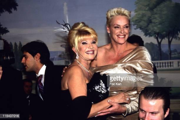 Mattia Dessi Ivana Trump Brigitte Nielsen and A Guest