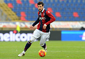 Mattia Destro of Bologna FC in action during the Serie A match between Bologna FC and AC Chievo Verona at Stadio Renato Dall'Ara on January 10 2016...