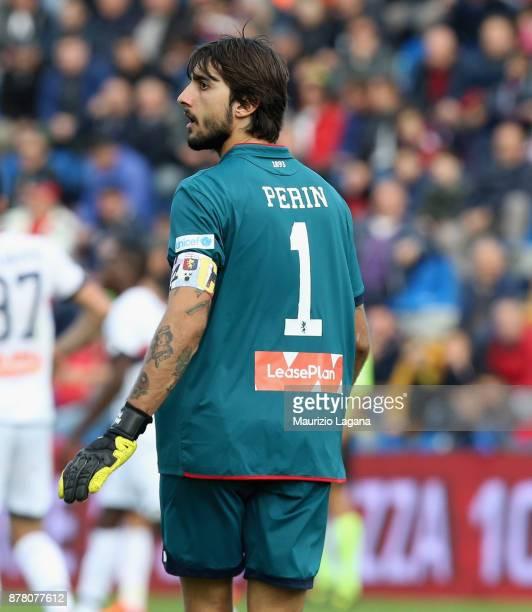 Mattia Perin of Genoa during the Serie A match between FC Crotone and Genoa CFC at Stadio Comunale Ezio Scida on November 19 2017 in Crotone Italy