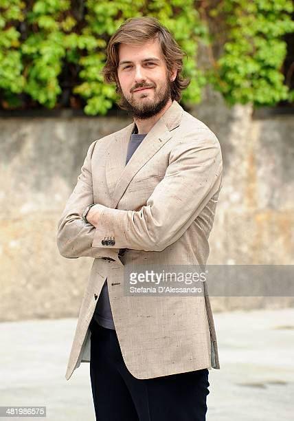 Mattia Zaccaro Garau attends 'Il Pretore' Photocall at Apollo Spazio Cinema on April 2 2014 in Milan Italy
