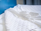 Mattress fabric napkins, dust mites cover and topper