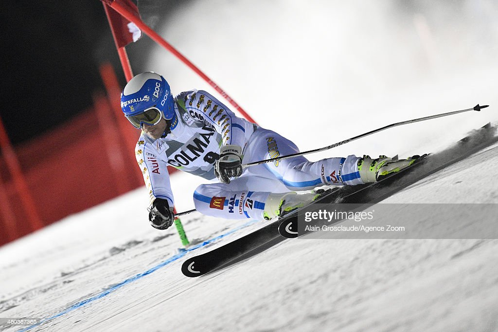 <a gi-track='captionPersonalityLinkClicked' href=/galleries/search?phrase=Matts+Olsson&family=editorial&specificpeople=5658817 ng-click='$event.stopPropagation()'>Matts Olsson</a> of Sweden competes during the Audi FIS Alpine Ski World Cup Men's Giant Slalom on December 12, 2014 in Are, Sweden.