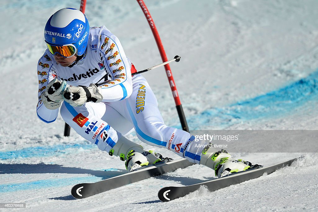 <a gi-track='captionPersonalityLinkClicked' href=/galleries/search?phrase=Matts+Olsson&family=editorial&specificpeople=5658817 ng-click='$event.stopPropagation()'>Matts Olsson</a> of Sweden competes during the men's giant slalom. FIS Alpine World Ski Championships 2015 on Friday, February 13, 2015.