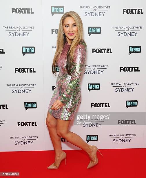 Matty Samaei poses during a media call to announce the cast of The Real Housewives of Sydney at the Park Hyatt on July 22 2016 in Sydney Australia
