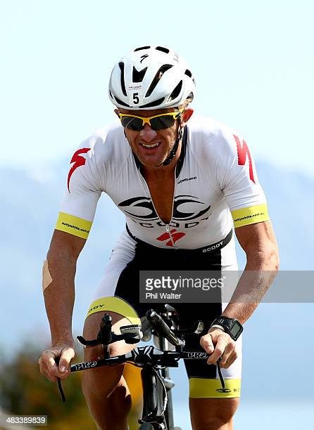Matty White of Australia during the Challenge Wanaka on January 18 2014 in Wanaka New Zealand
