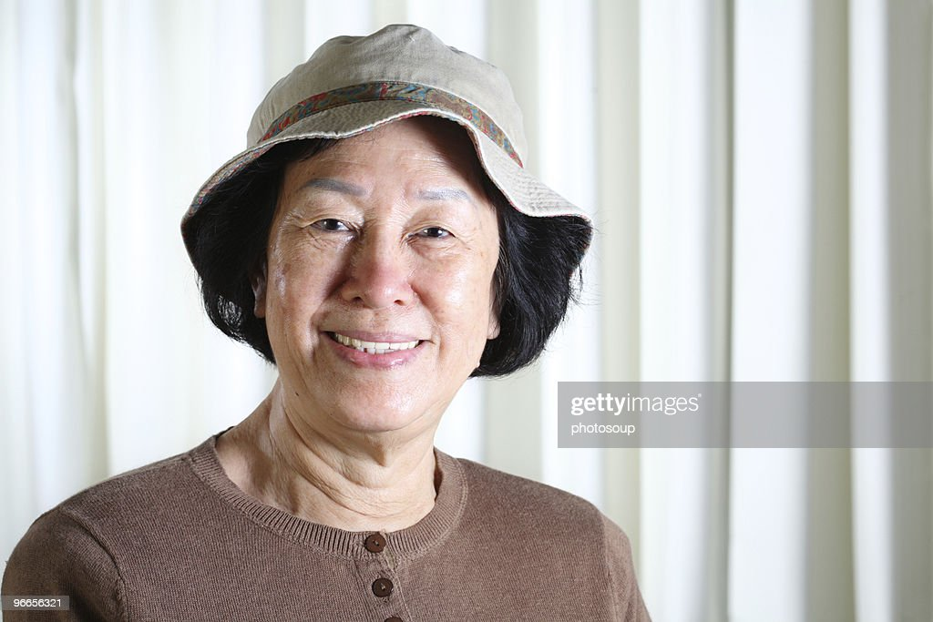 Mature asian facial