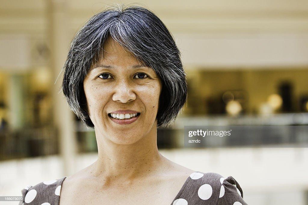 Mature asian woman ideo