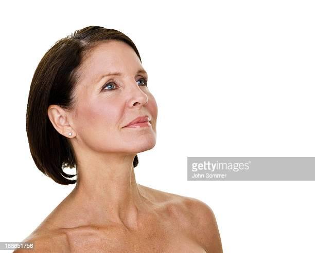Mature beauty concept