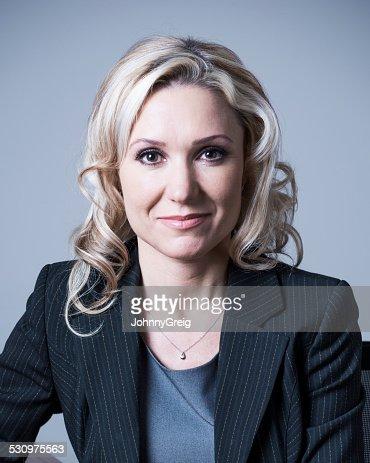 Mature business woman portrait