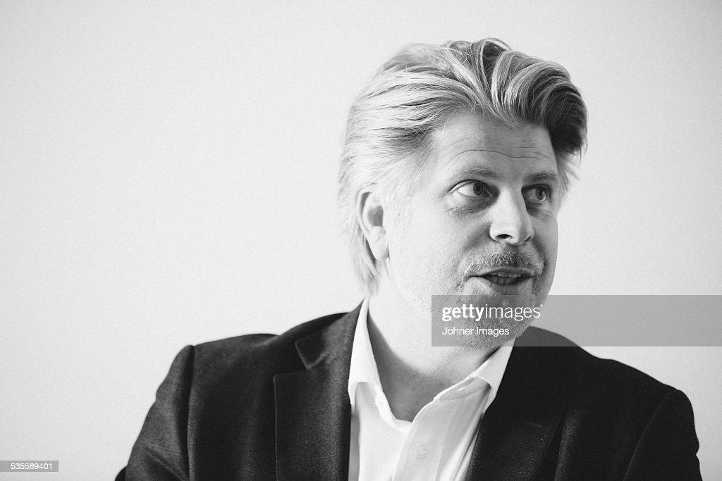 Mature businessman : Stock Photo