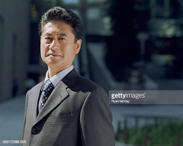 成熟したビジネスマンの肖像画
