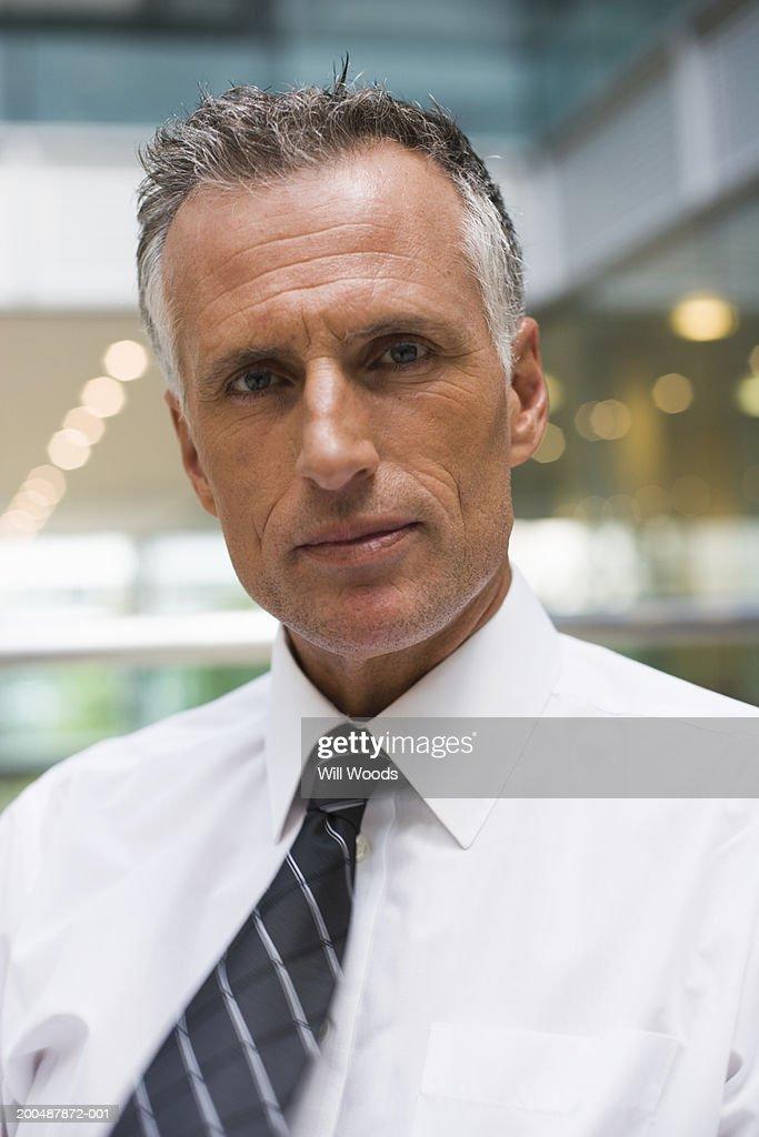 Mature businessman, portrait : Stock Photo