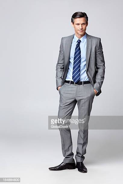 Mature businessman posing for a photo
