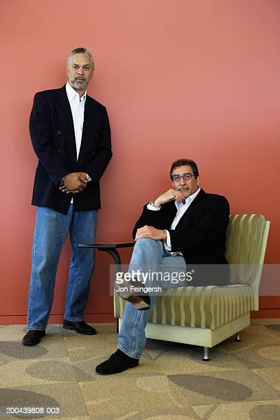Mature businessmen, portrait