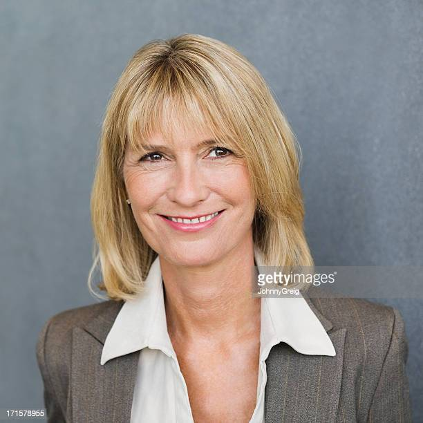 Mature Femme d'affaires, Portrait photo