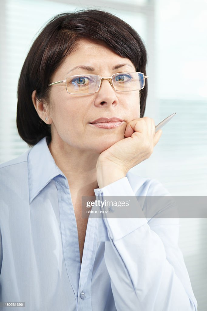 Reife Geschäftsfrau : Stock-Foto