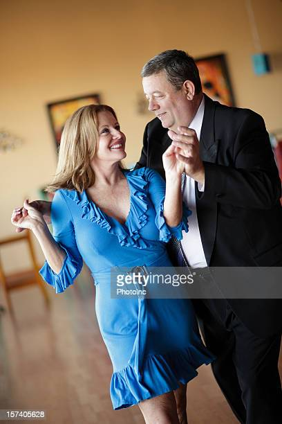 Mature Couple Ballroom Dancing