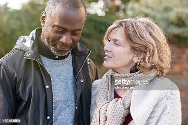 Mature Couple in Candid moment