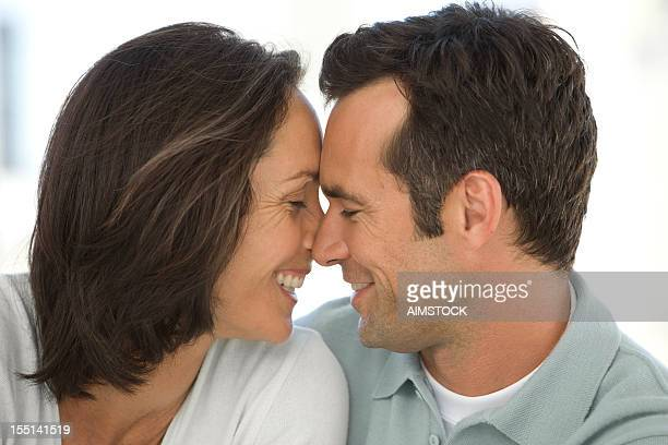 Mature Couple in Love intimacy