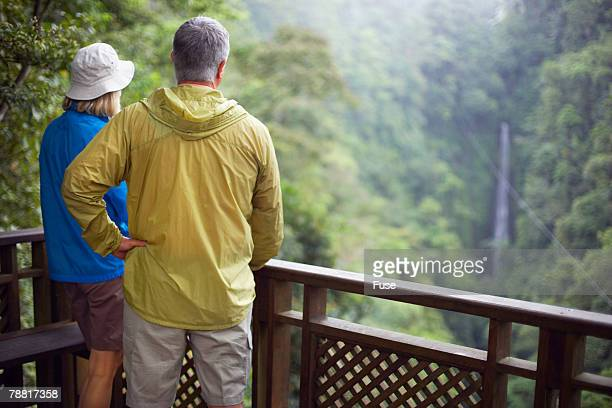 Mature Couple in Wilderness Area