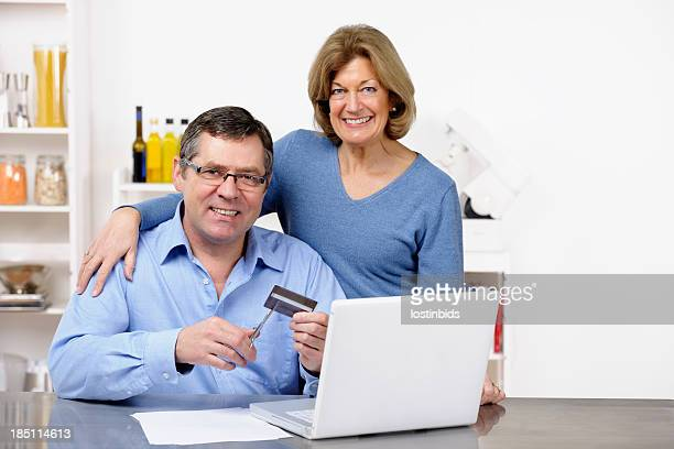 Mature Couple Liberating Themselves From Debt