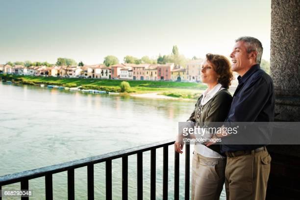 Mature Couple Sightseeing