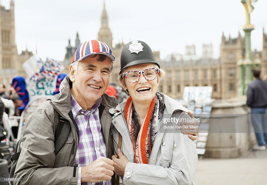 image Old granny tourist is picked up and screwed