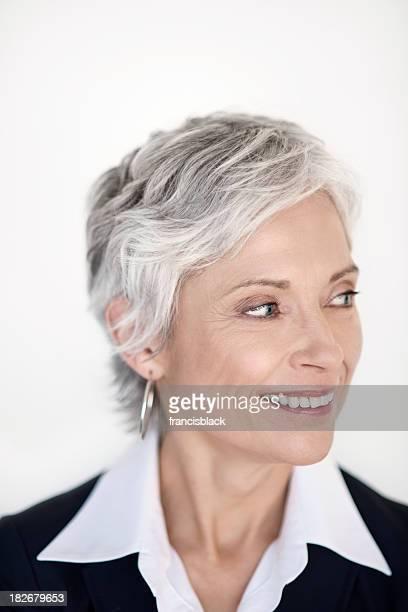 Mature executive business woman