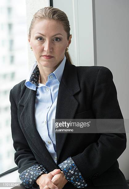 Mature female executive