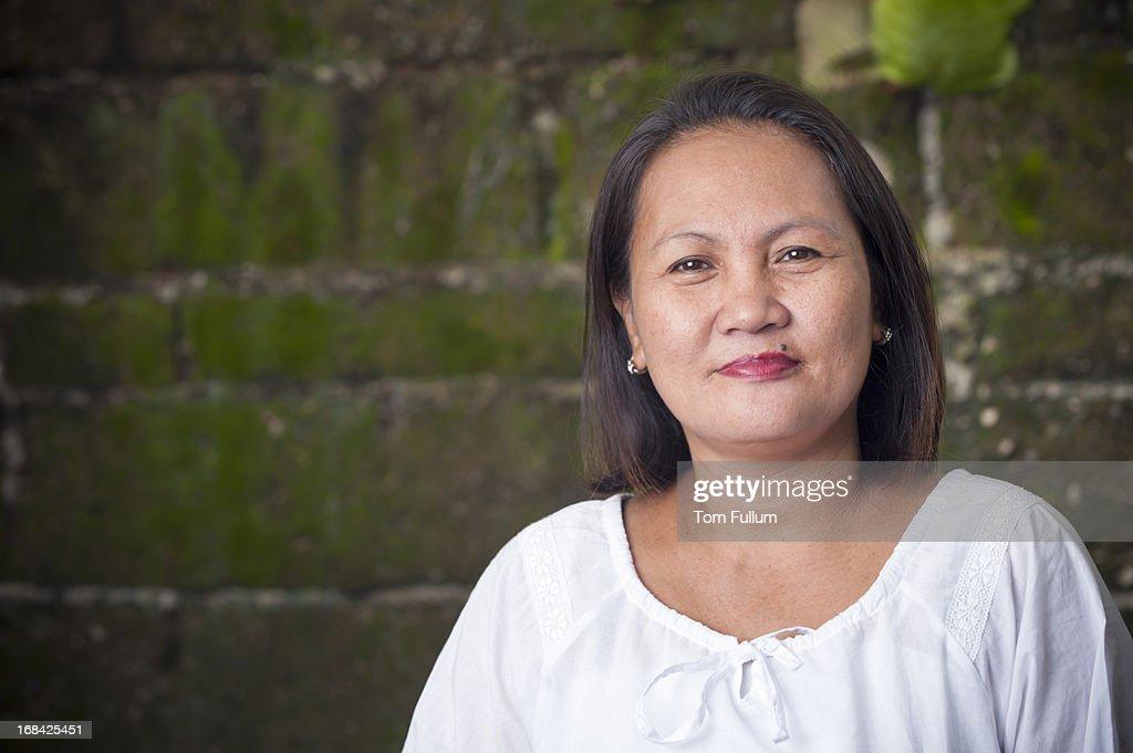 Filipino Woman Stock Photo 54