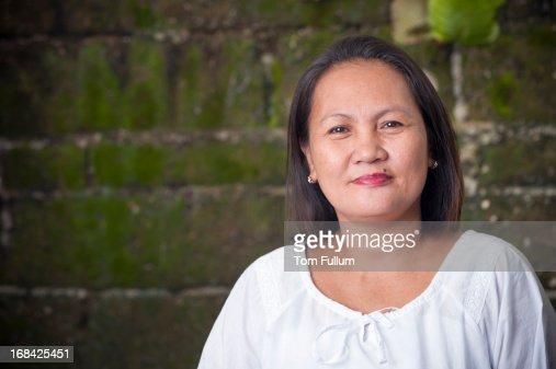 Filipino Woman Stock Photo 46
