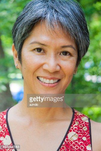 Filipino Woman Stock Photo 100