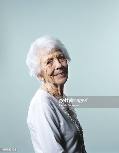 Mature happy woman