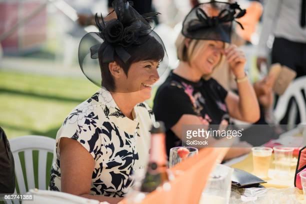 Mature Ladies on Race Day