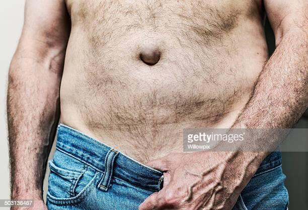 Mature Male Showing Abdomen