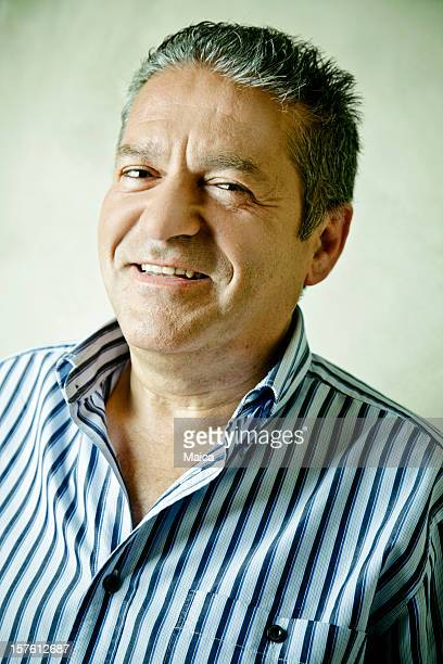 Mature man portrait