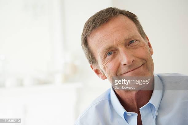 Homme mûr, portrait