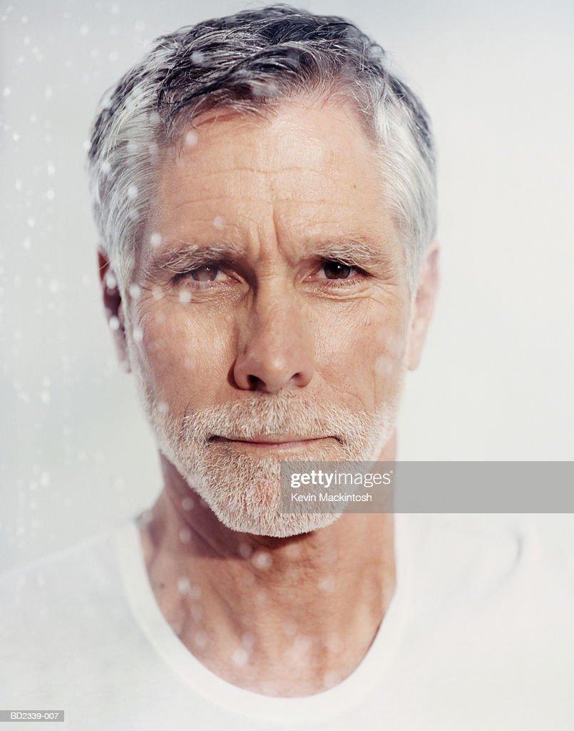Mature man, portrait