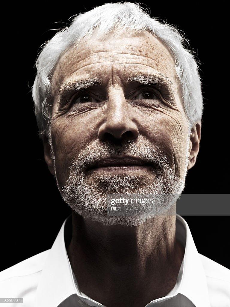 Mature man, portrait shot