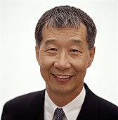 Mature man smiling, close-up, portrait