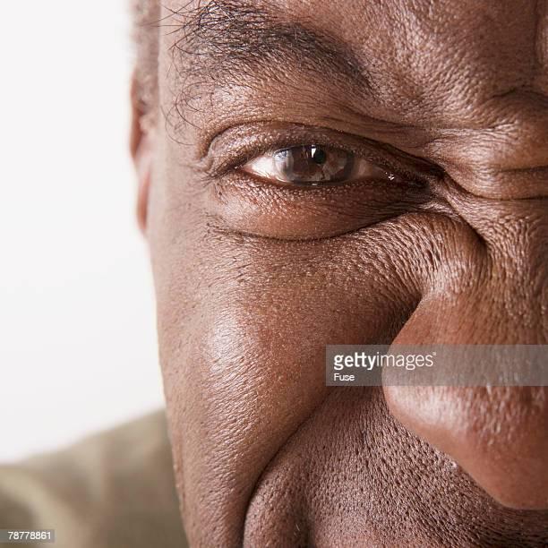 Mature Man Staring