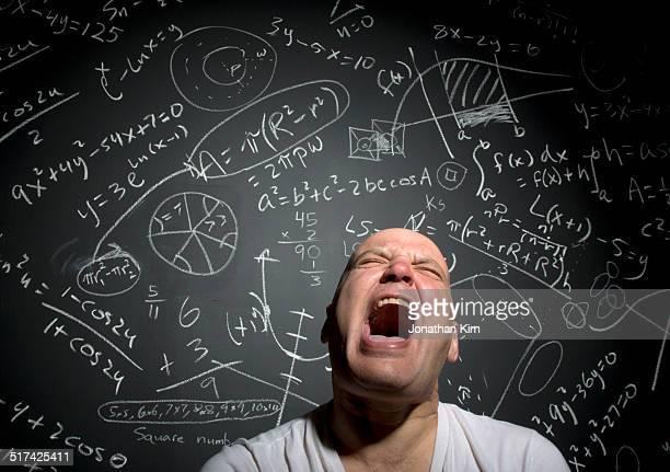 Mature man with math problems