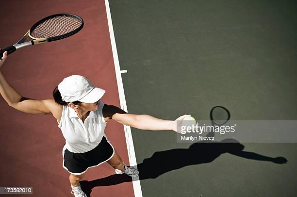 mature Joueur de tennis