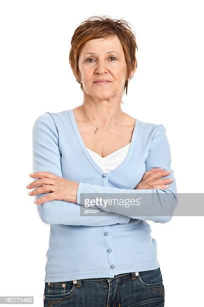 Femme d'âge mûr