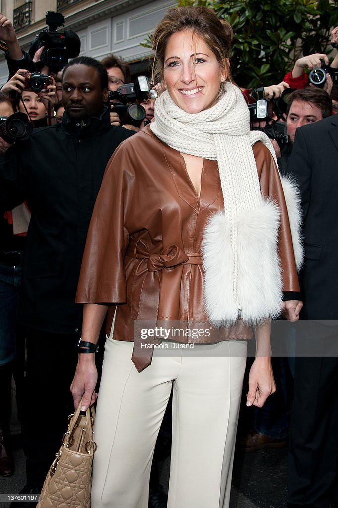 Maud Fontenoy arrives for the Dior HauteCouture 2012 show as part of Paris Fashion Week as part of Paris Fashion Week at Salons Christian Dior on...