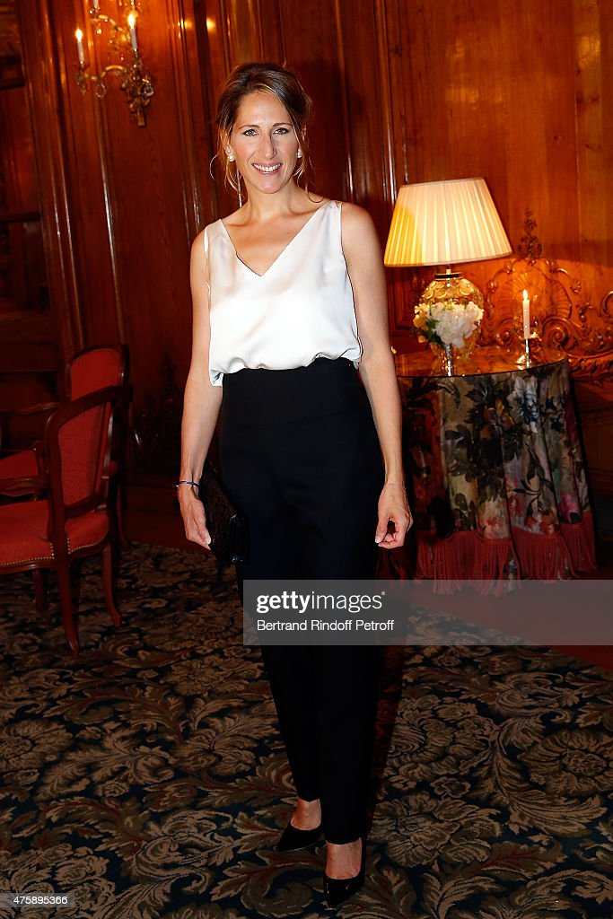 Maud Fontenoy Foundation : Charity Dinner At Hotel Bristol In Paris